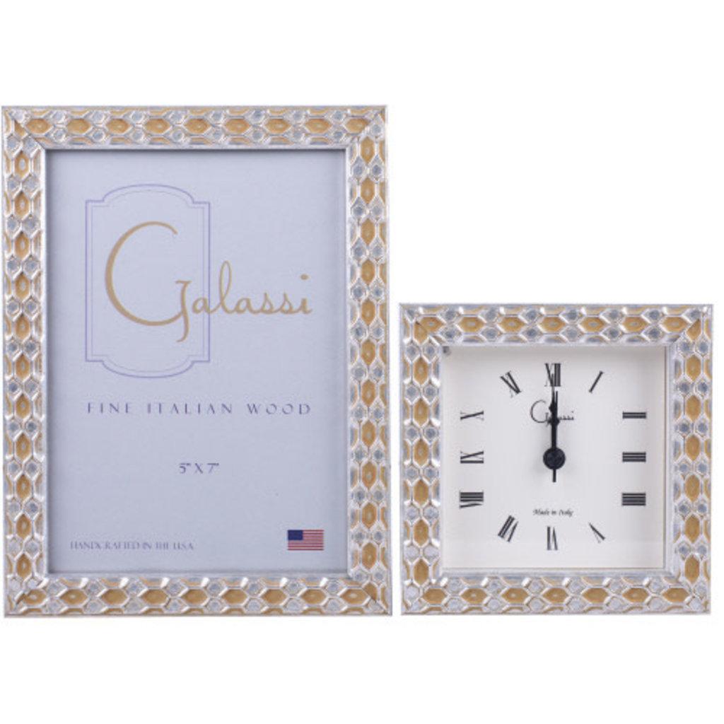 Galassi Silver Honeycomb 5x7 Frame