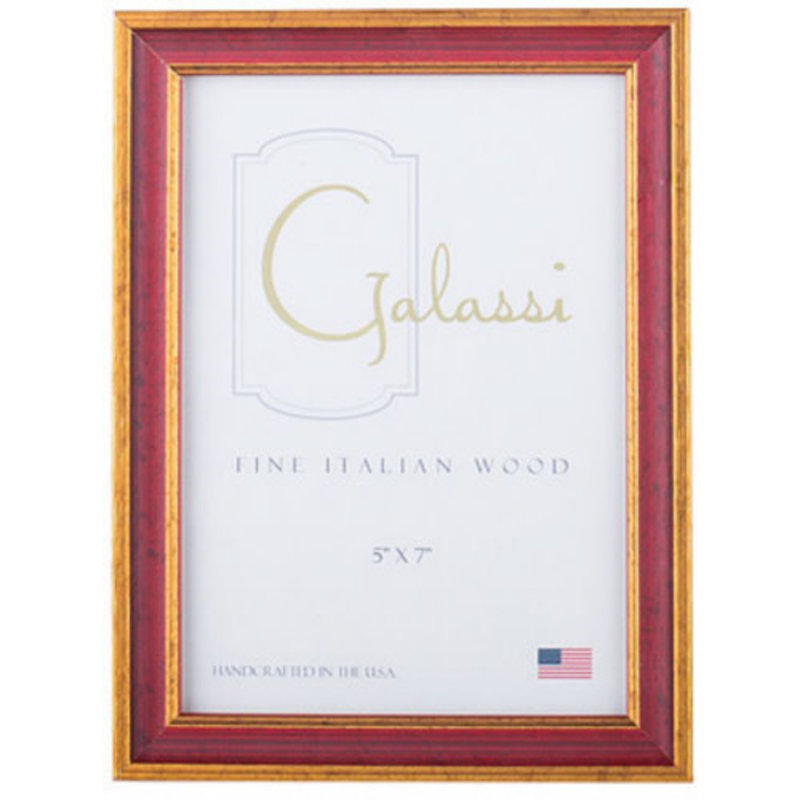Galassi Primary Red Traditional 8x10 Frame