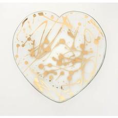 """Annie Glass 7"""" Jaxson Heart Plate"""