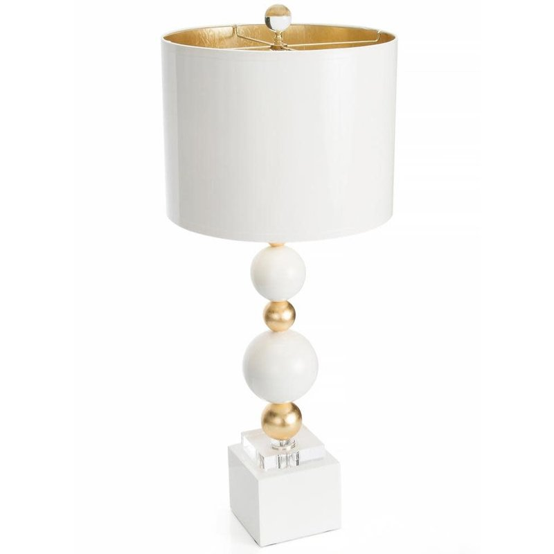Couture Lamps 29'' Sheridan Table Lamp White