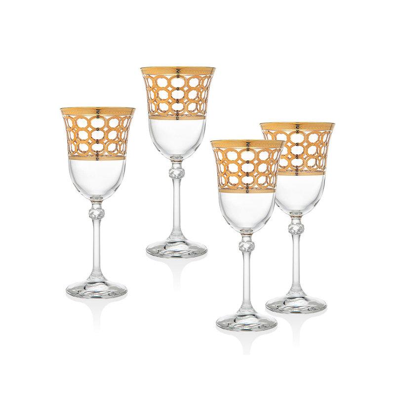 Godinger Emilio Set of 4 Water Glass