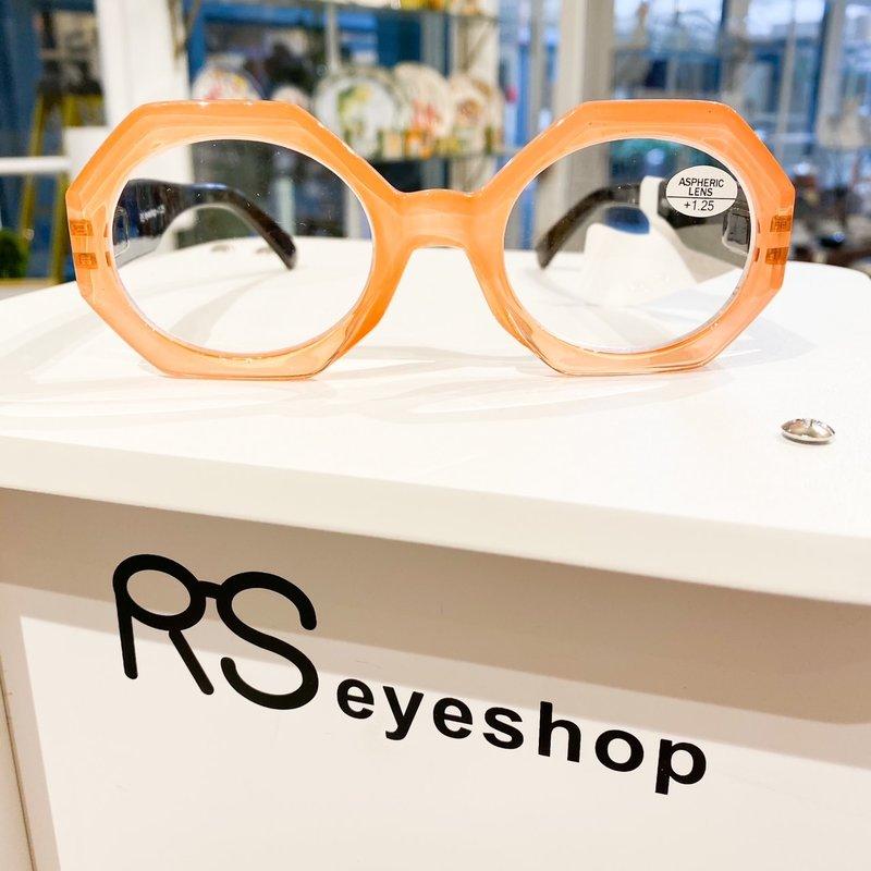 RS Eyeshop Reader Polycarbonate Peach