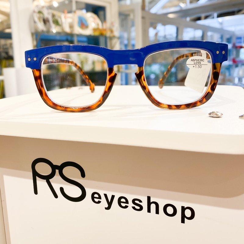 RS Eyeshop Reader Polycarbonate Blue/Tortoise
