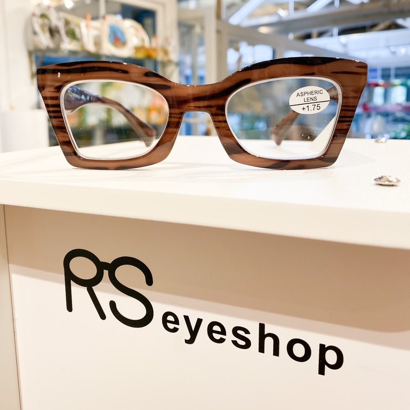 RS Eyeshop Reader Polycarbonate Stripe