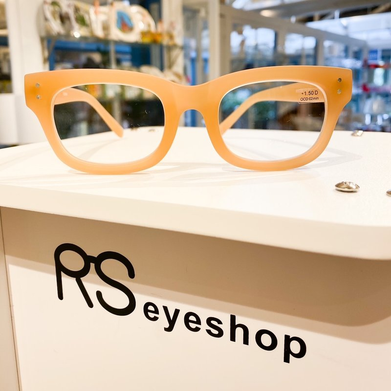 RS Eyeshop Reader Polycarbonate Tan