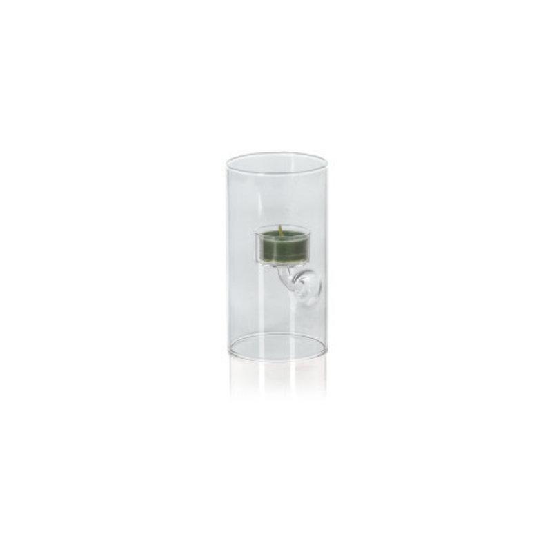 Zodax Suspended Glass Tea Light Holder 3.25'' x 6''