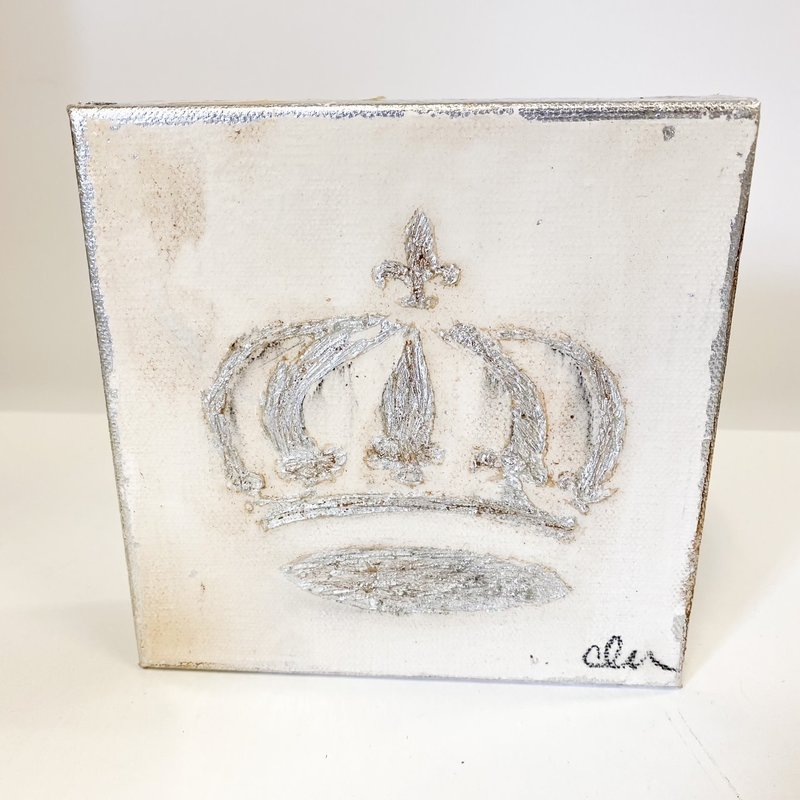 Claudia Nelson Silver Crown 6 x 6