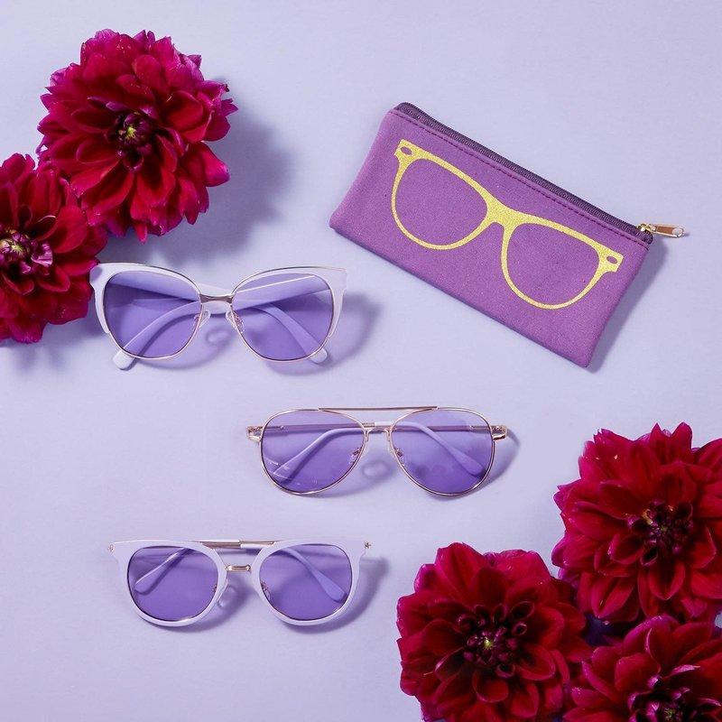Two's Company Lilac Sunglasses
