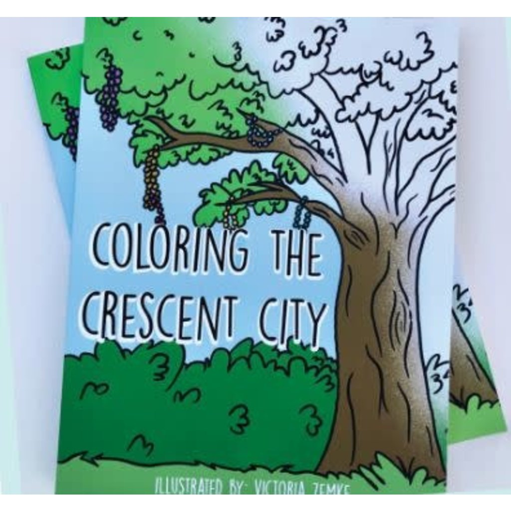 Victoria Zemke Coloring the Crescent City