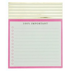Graphique 100% Important Jotter Pad
