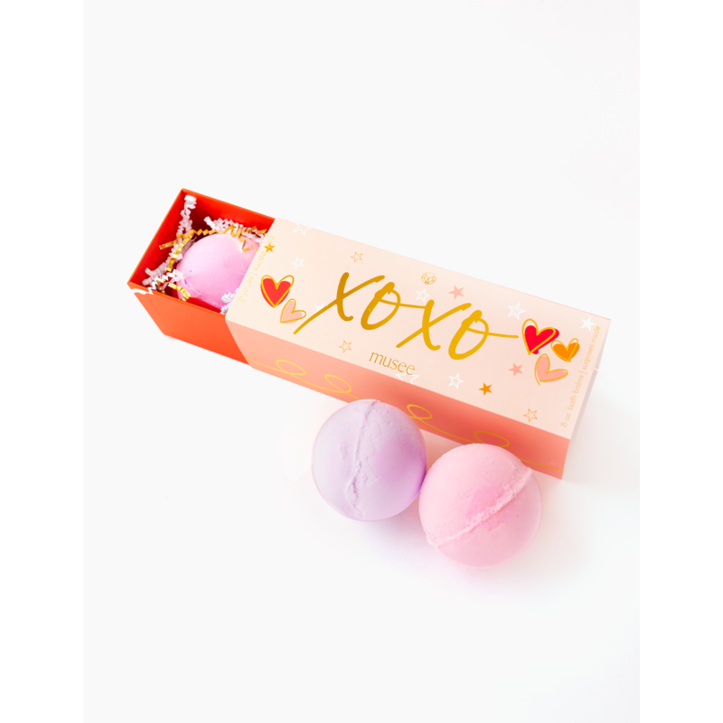Musee Therapy XOXO 3 Bath Balm Valentine's Day Set