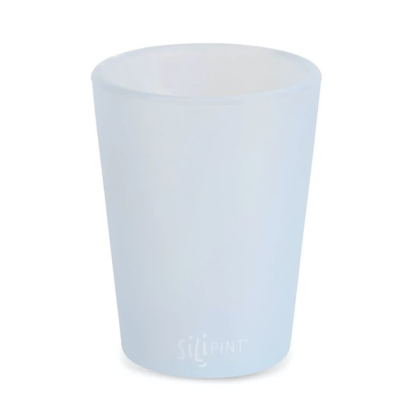 Silipint 8 oz Half Pint, Frosted White
