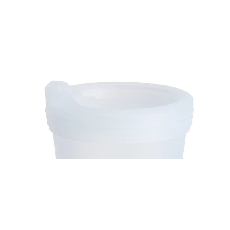 Silipint Silicone Lid Frosted White 8 oz