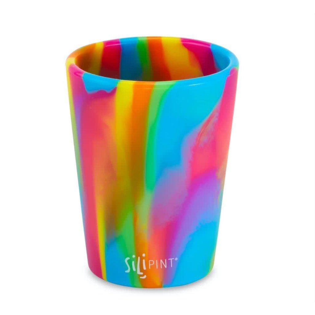 Silipint 8 oz Half Pint, Hippy Hops Tie-Dyed