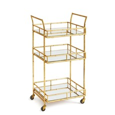 Napa Home and Garden Daphne Bar Cart 18.5 x 16 x 33.75