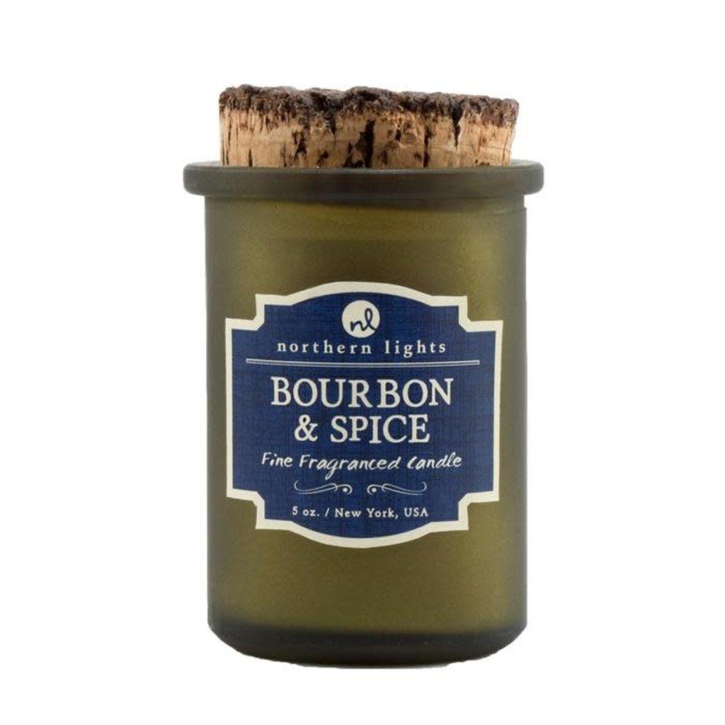 Northern Lights Bourbon & Spice Spirit Candle 5 oz