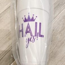 Elle Paperie Hail Yes Foam Cups- 20oz Purple Ink