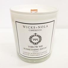Wicks + Nola Candle Co. 11 oz Throw Me Something Sista! Candle