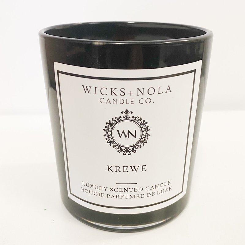 Wicks + Nola Candle Co. 11 oz Krewe Candle