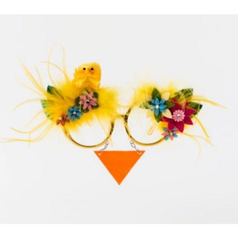 One Hundred 80 Degrees Easter Chicks Glasses