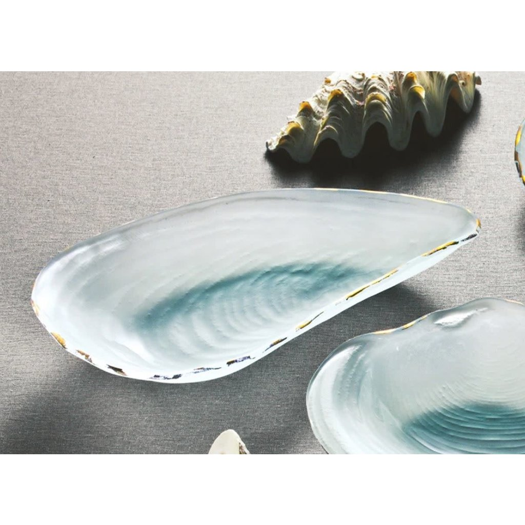 Annie Glass Annie Glass Oyster Shell Serving Dish