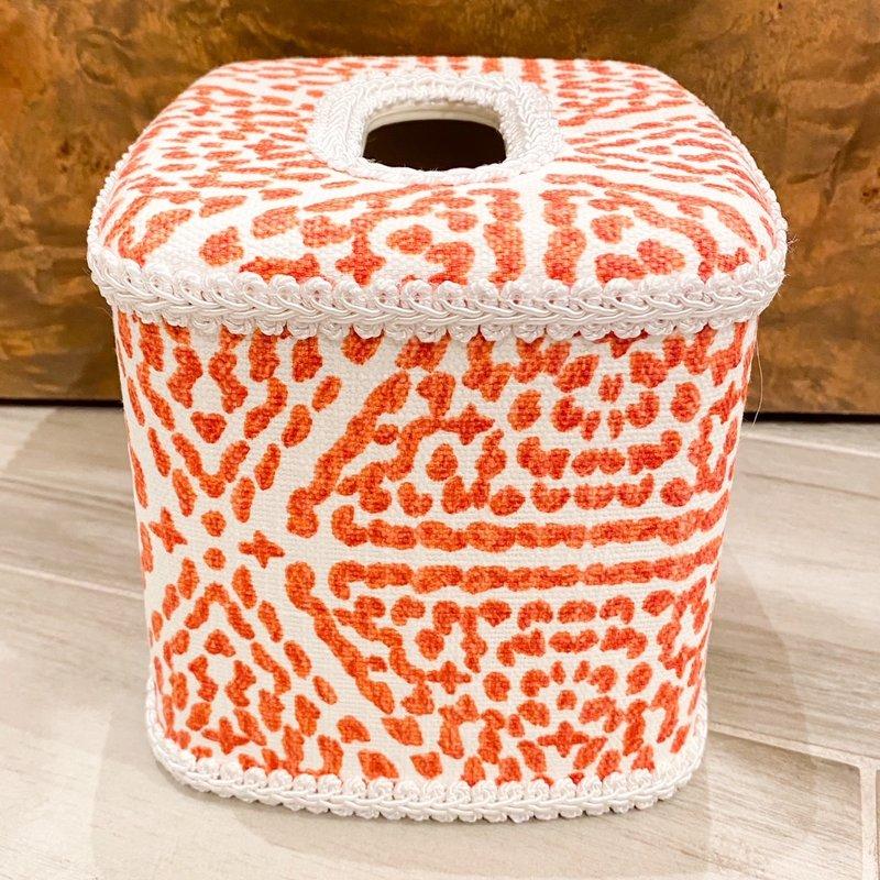 Jan Sevadjian Madrid Orange Tissue Cover