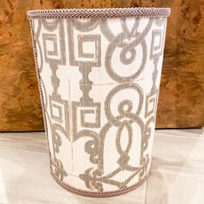 Jan Sevadjian Grecian Silver Wastebasket