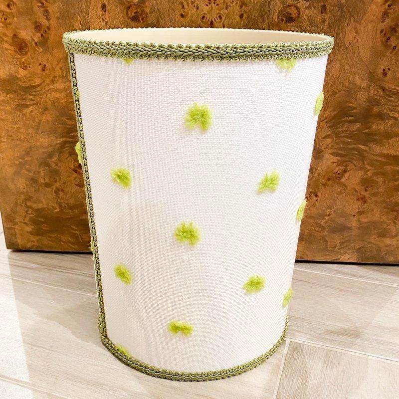 Jan Sevadjian Calypso Green Wastebasket