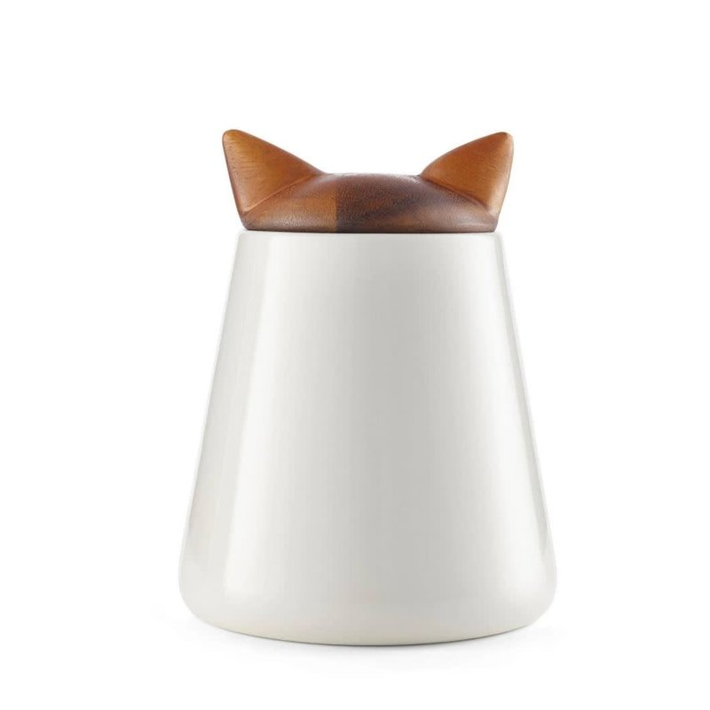 Nambe Nambe Cat Treat Jar