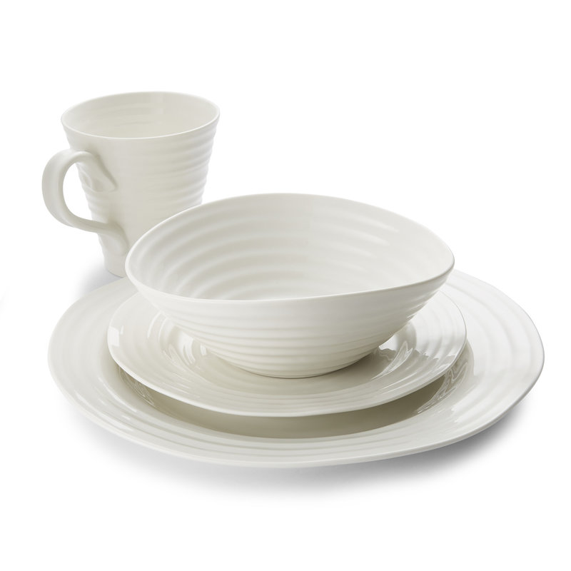 Sophie Conran Sophie Conran White 4 Piece Place Setting