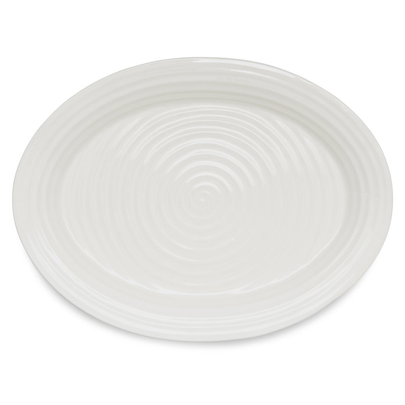 Sophie Conran Sophie Conran White Platter Oval 17 x 13