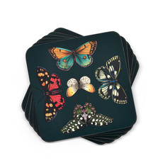 Pimpernel Butterfly Garden Harmony Coasters Set of 6