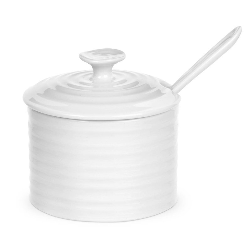 Sophie Conran Sophie Conran White Conserve Pot with spoon