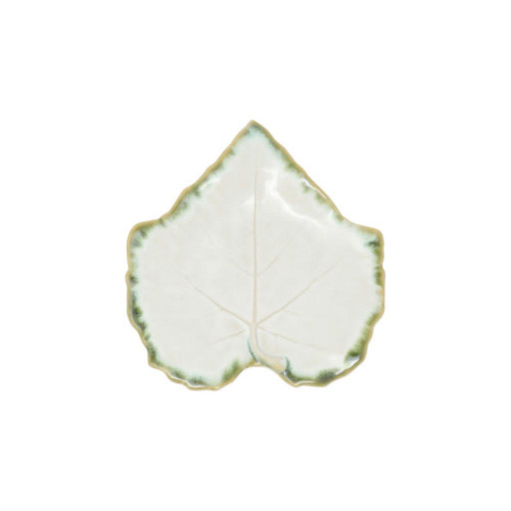 Vietri Foglia Stone White Bread & Butter Plate
