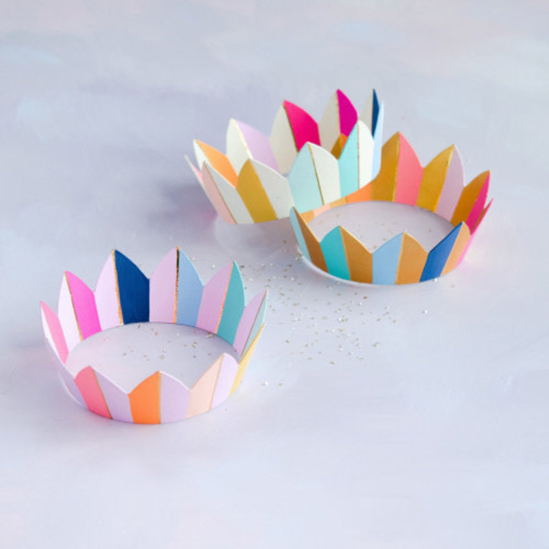 One Hundred 80 Degrees Rainbow Crown