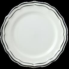 Gien Dessert Plate Filet Manganese