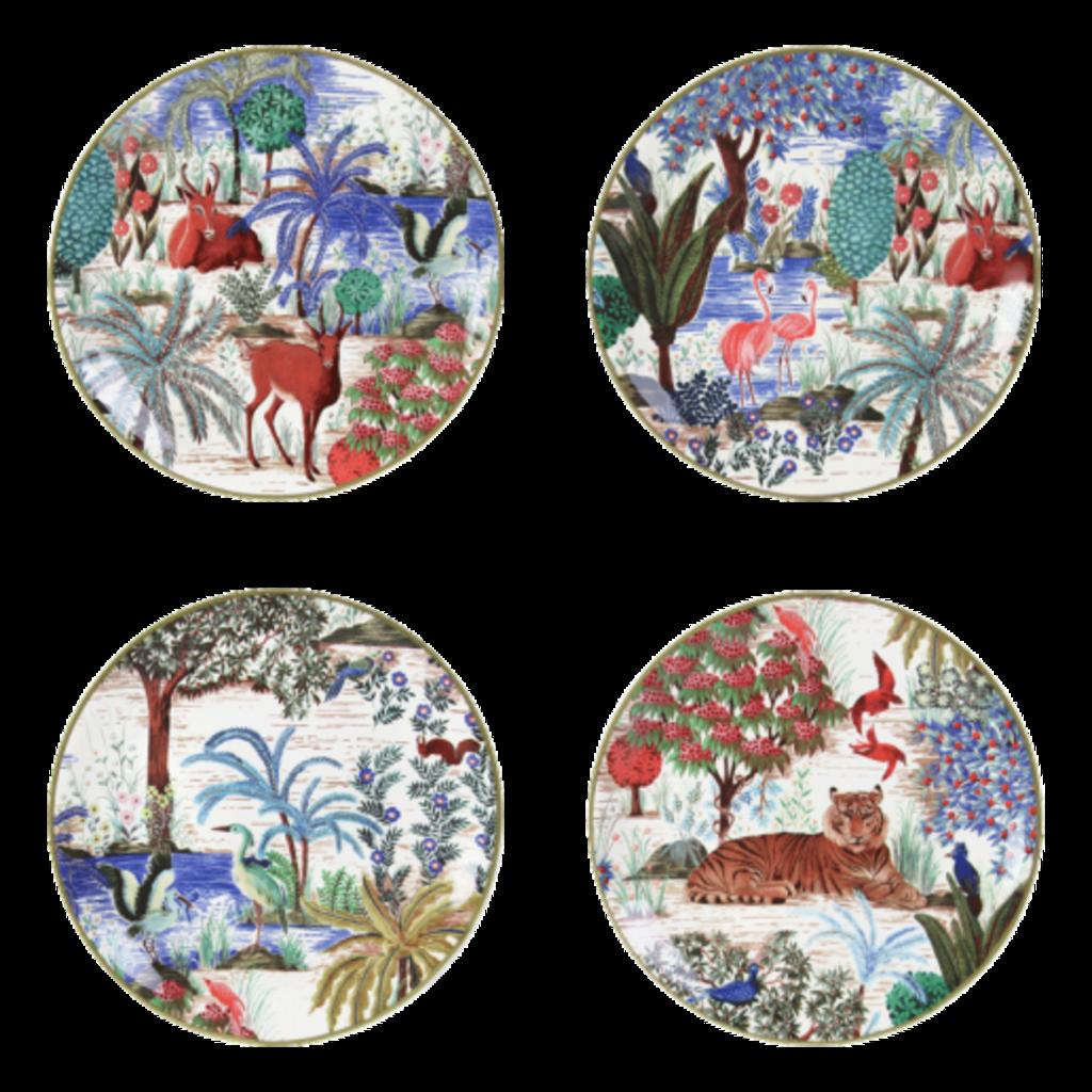 Gien Canape Plates Assored Jardin Du Palais