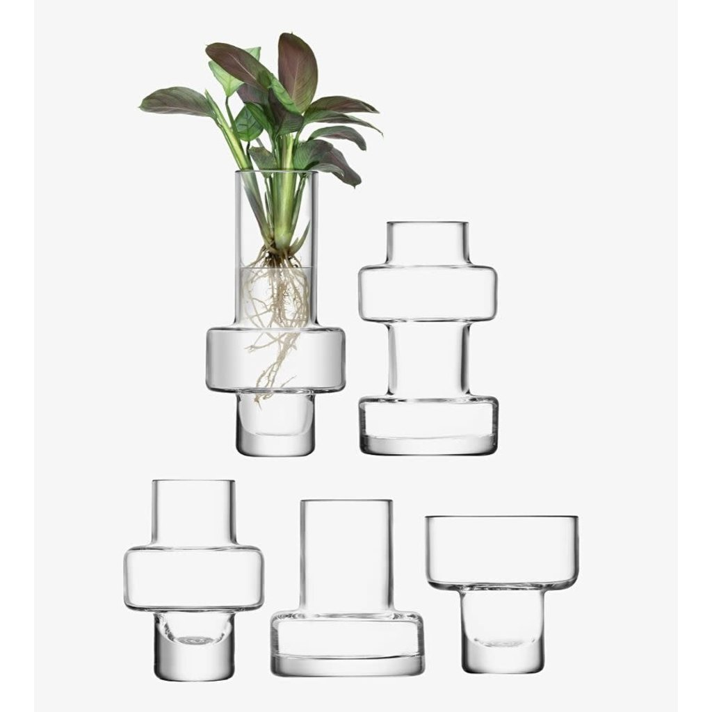LSA Metropole Five Mini Vase Set