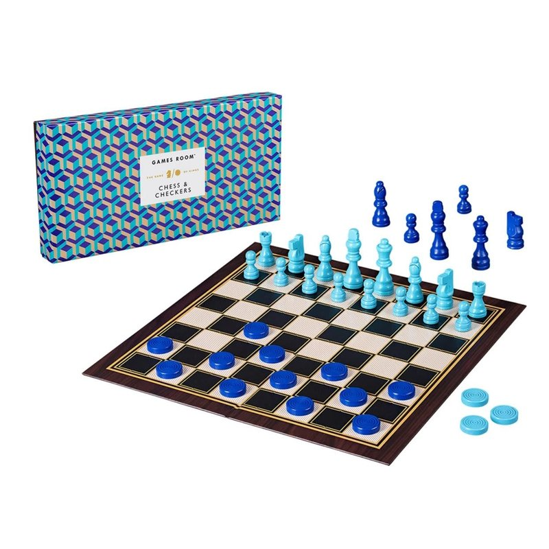 Hachette Ridley's Checkers/Chess Board