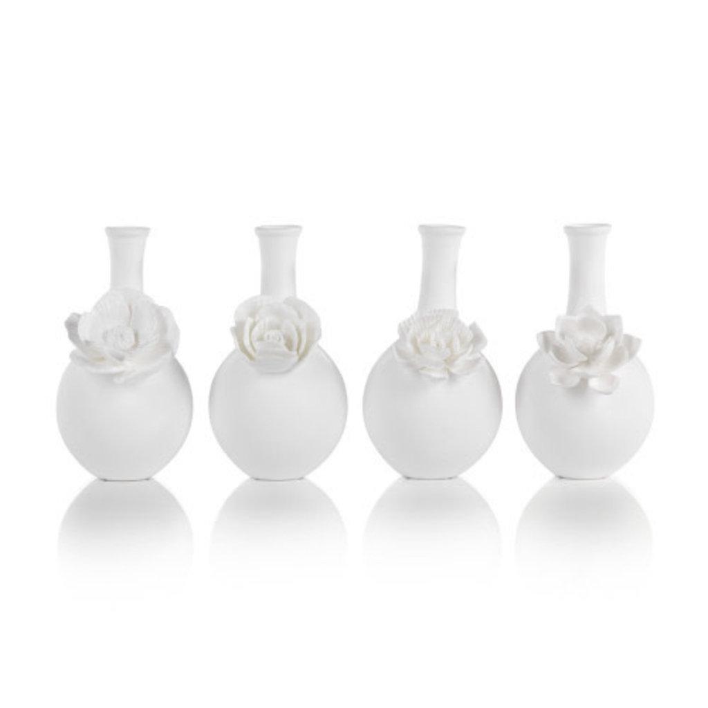 Zodax Cameo Long Neck Porcelain Vase