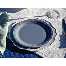 """Juliska B&T Chambray Melamine Dinner Plate 11""""W"""