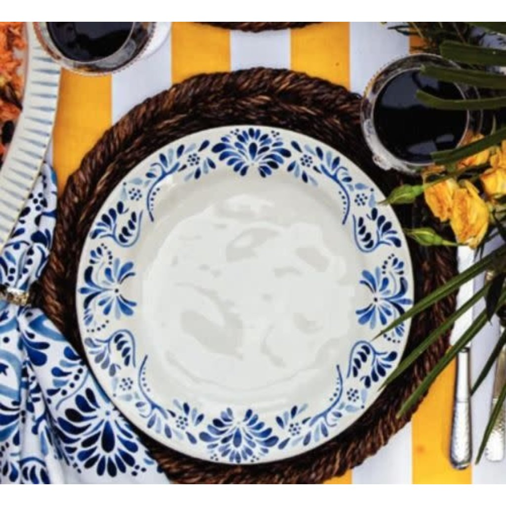 "Juliska Iberian Journey Indigo Dinner Plate 11""W"
