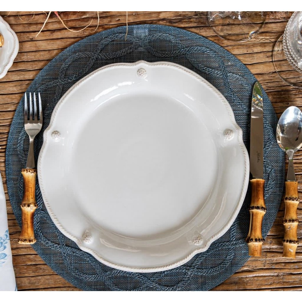 Juliska B&T Flared Whitewash Dessert/Salad Plate