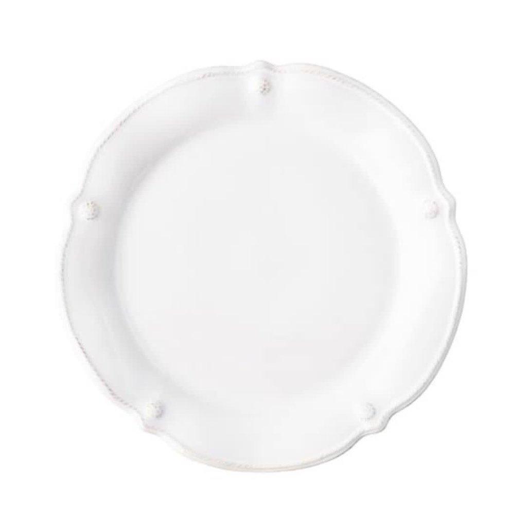 Juliska B&T Flared Whitewash Dinner Plate