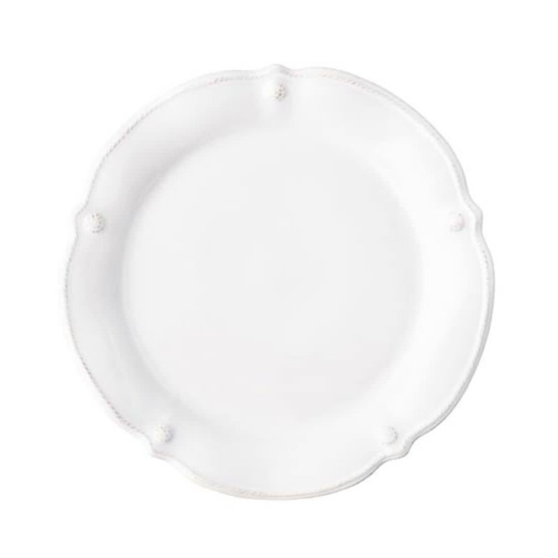 Juliska B&T Flared Whitewash Dinner Plate
