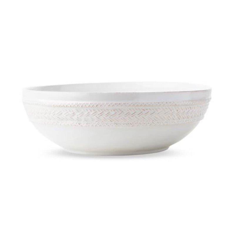 """Juliska Le Panier Serving Bowl White 12""""W"""
