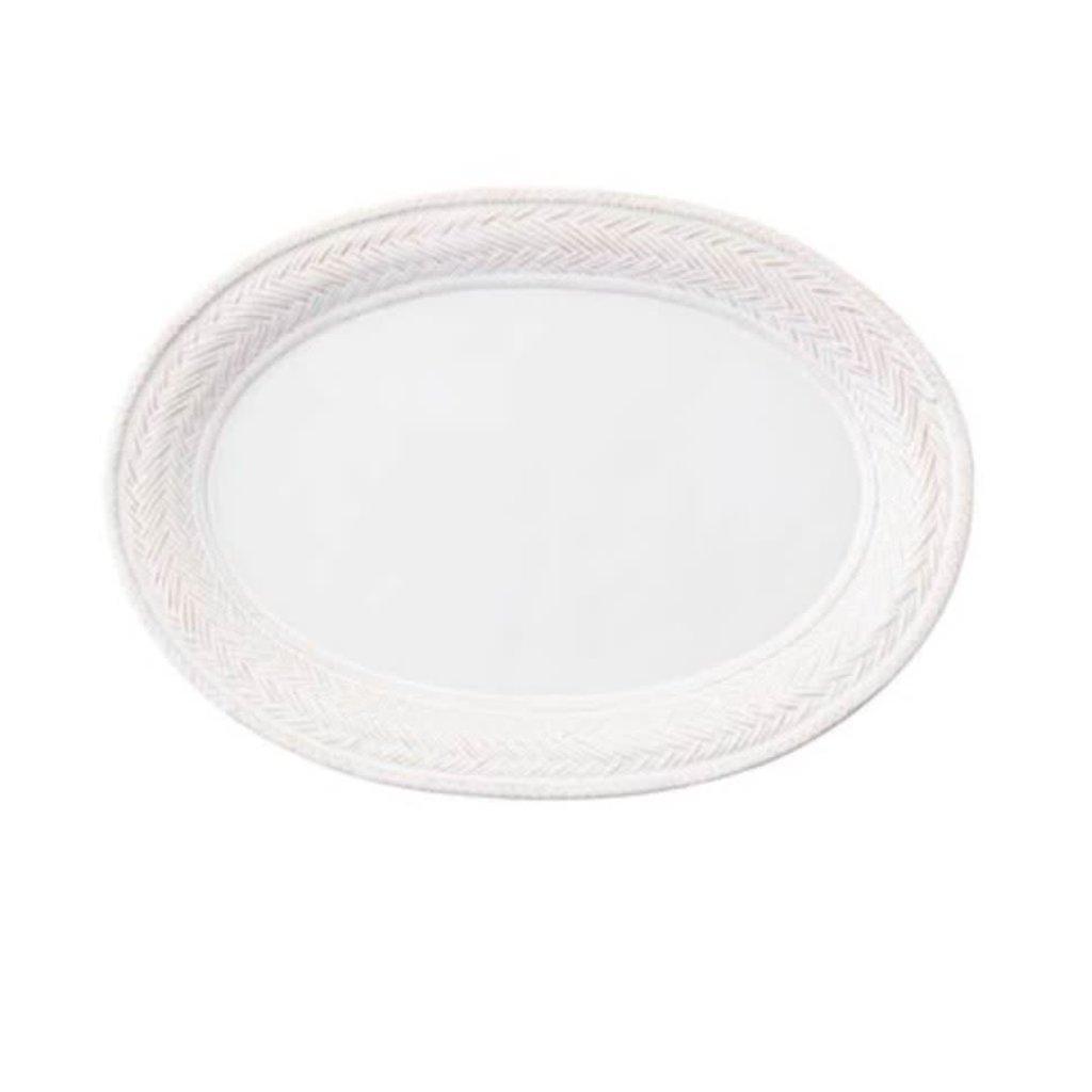 """Juliska Le Panier Platter White 17"""""""