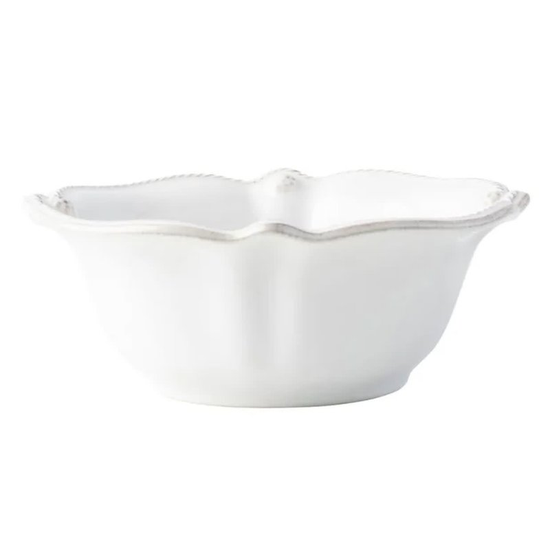 Juliska B&T Flared Whitewash Cereal/Ice Cream Bowl