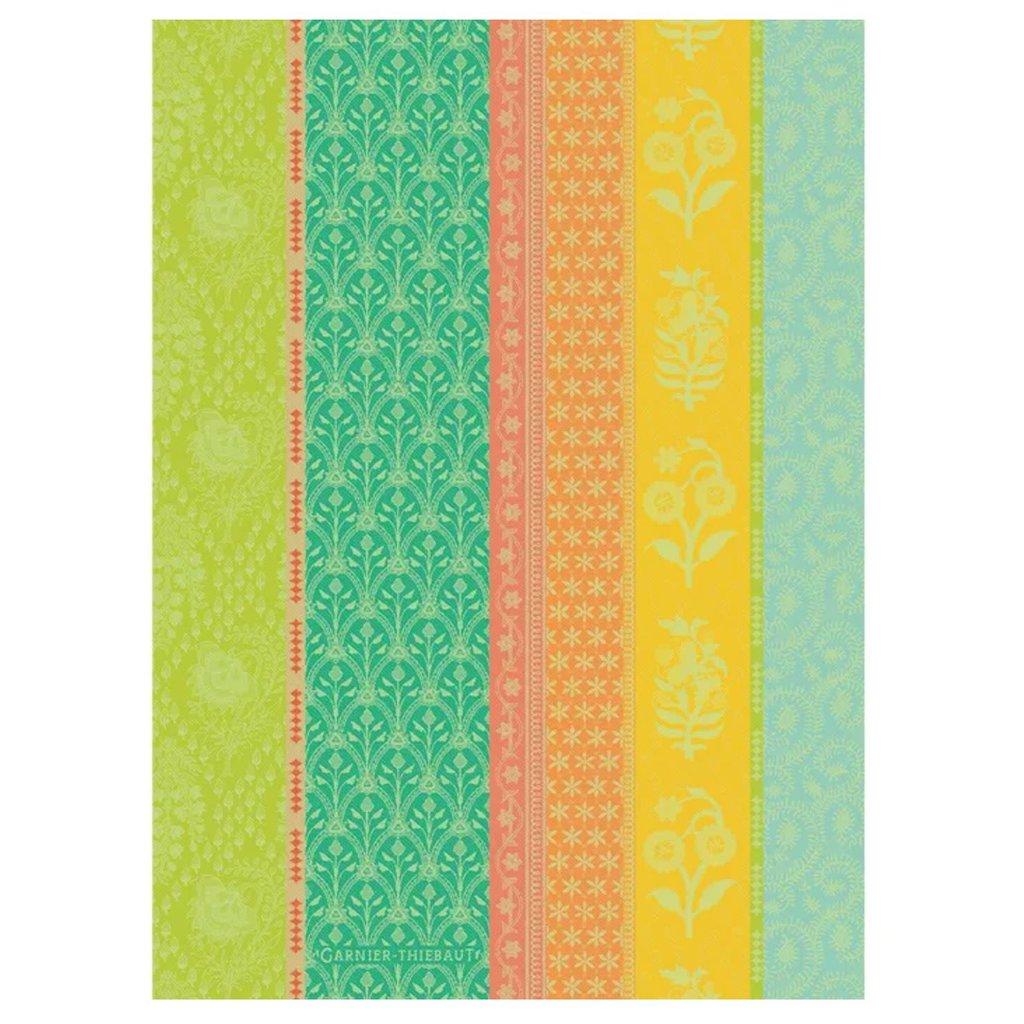 "Garnier Thiebaut Mille Saris Kerala Kitchen Towel 22""x30"", 100% Cotton"