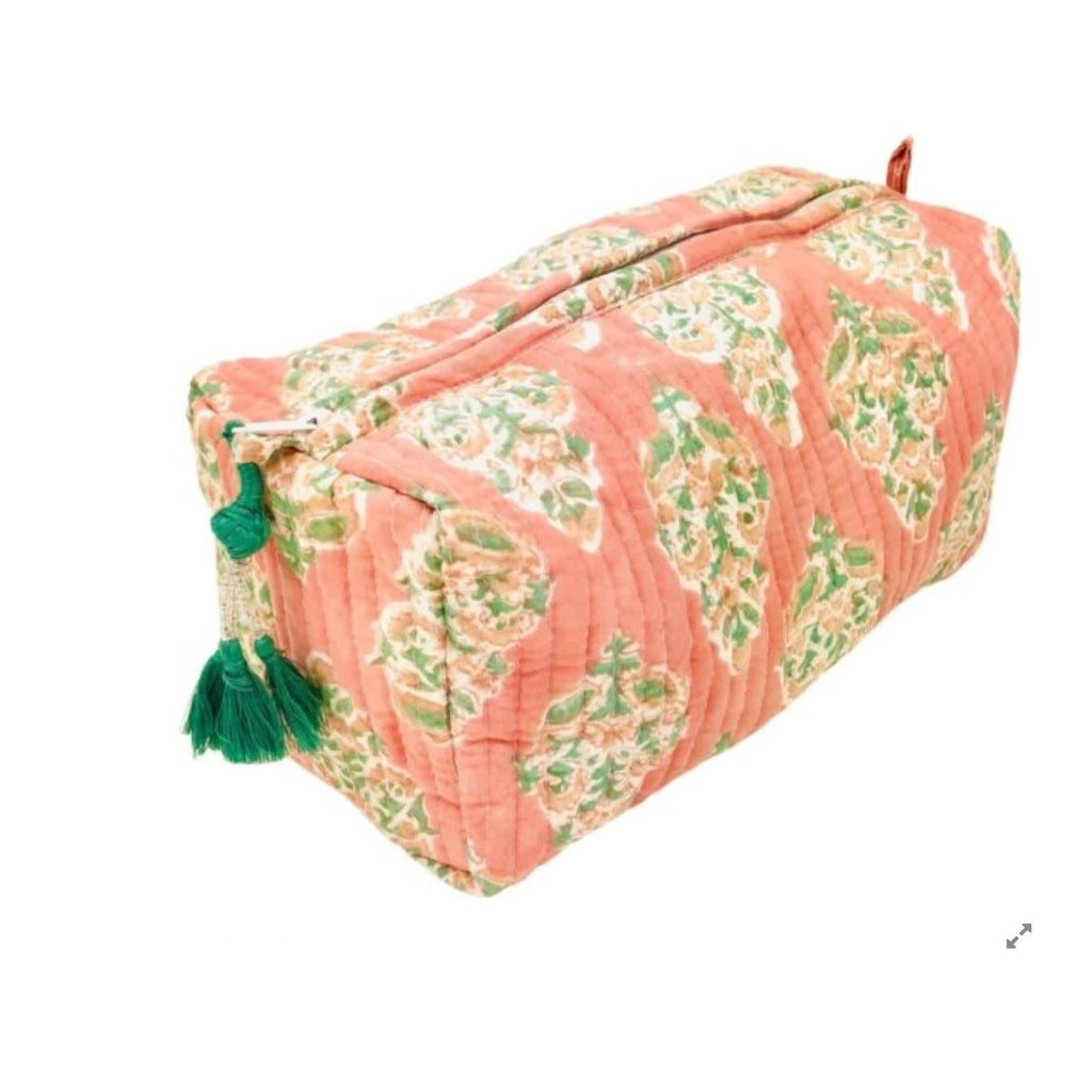 Pacific & Rose Textiles Cosmetic Pouch Large